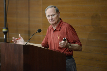 USC athletic director Pat Haden