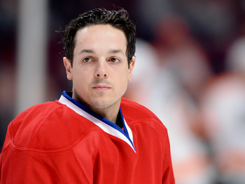 Daniel Briere was Montreal's biggest offseason signing.