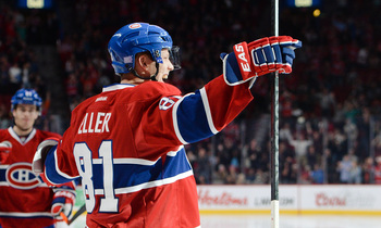 Lars Eller is Montreal's hottest player to start the season.
