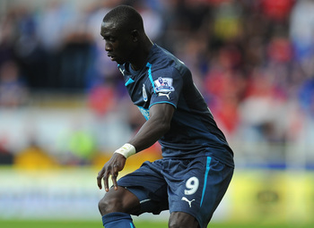 Papiss Cisse has gone 13 Premier League games without a goal.