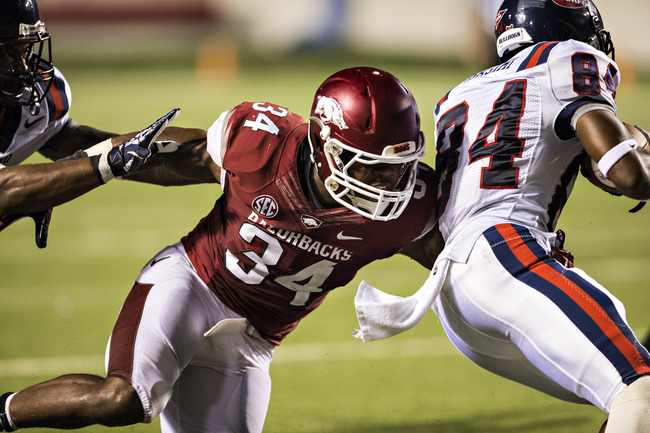 Hi-res-180002229-braylon-mitchell-of-the-arkansas-razorbacks-tackles_crop_650
