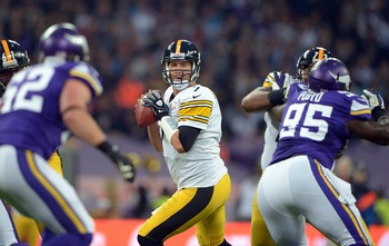 Ben Roethlisberger has five interceptions in four games.