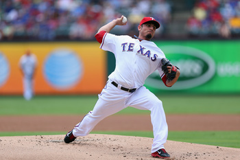 Matt Garza pitched better with the Cubs than he did in Texas.
