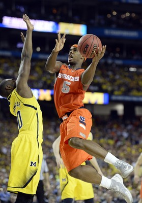 Syracuse wing C.J. Fair scored 22 points in a Final Four loss to Michigan.