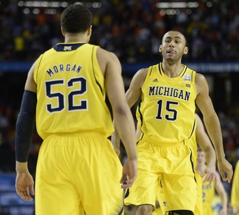 Jordan Morgan and Jon Horford are competing for a coveted spot in the starting lineup.