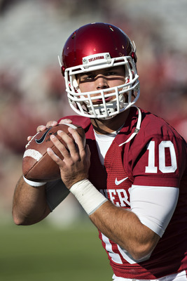 Oklahoma junior quarterback Blake Bell against TCU on Oct. 5.