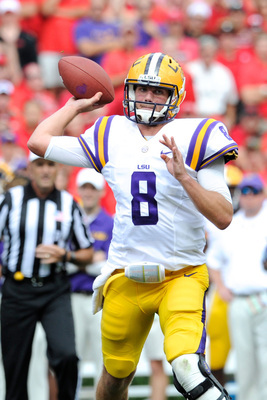 Senior LSU quarterback Zach Mettenberger.
