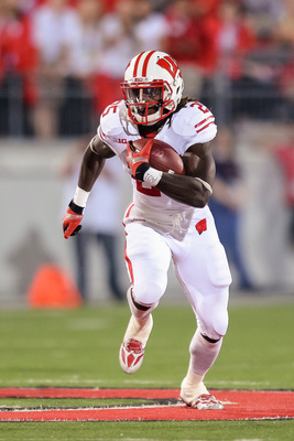 Wisconsin sophomore running back Melvin Gordon at Ohio State on Sept. 28.