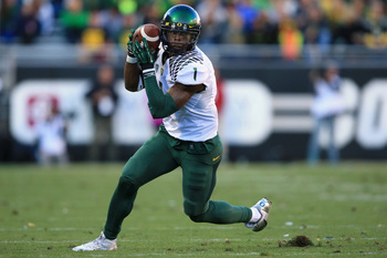 Oregon senior wide receiver Josh Huff at Colorado on Oct. 5.
