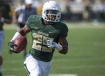 Baylor junior running back Lache Seastrunk.