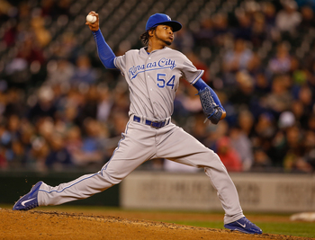 Ervin Santana pitched very well for the Royals in 2013.