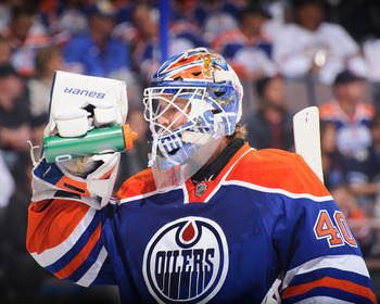 Devan Dubnyk needs to assert himself in goal for the Oilers.