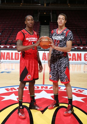 Rondae Hollis-Jefferson (left) and Aaron Gordon are one of the best freshmen combos to attend Arizona