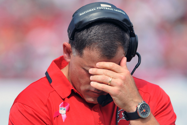 Image result for schiano screaming lunatic rutgers