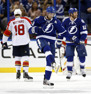 The sharpshooter Stamkos is at it again with a hat trick against the Florida Panthers.