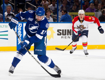 Alex Killorn is off to a hot start this season. The second-year man's production has been big.