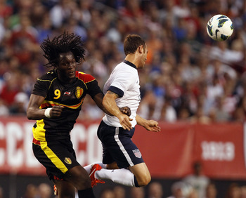 Romelu Lukaku's goals have shot Belgium to top spot
