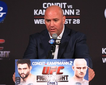 The UFC's ratings on Fox Sports 1 have been anything but good since its debut.