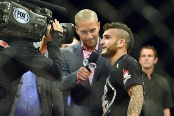 Look out, Demetrious Johnson. John Lineker's mohawk is coming for you.