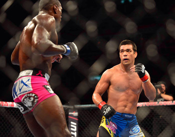 Lyoto Machida, on paper, seems like an unstoppable force at middleweight.