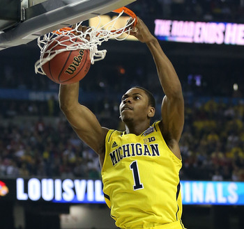 Glenn Robinson III has been aggressive and dominant in practices.