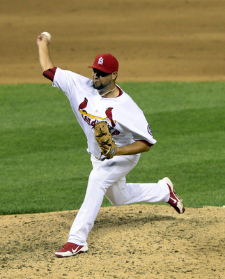 Edward Mujica had 37 saves for the Cardinals this year.