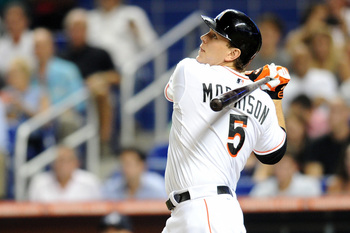 Logan Morrison is penciled into the Marlins starting lineup in 2015, but it's no guarantee he'll still be in Miami by then.