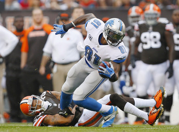 Megatron wasn't much more than a decoy vs. the Browns.