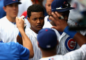 Hi-res-181325855-starlin-castro-of-the-chicago-cubs-is-greeted-in-the_display_image