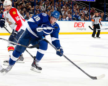 Ondrej Palat has one high ceiling in Tampa Bay. His overall play could be huge throughout the year.