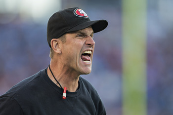 Not the most gracious loser, Harbaugh didn't mince words in detailing how the Seahawks won.