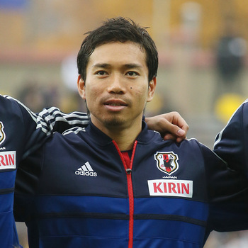 Hi-res-184678309-yuto-nagatomo-of-japan-looks-on-prior-to-the_display_image
