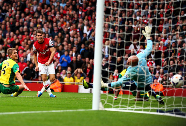 Hi-res-185349011-aaron-ramsey-of-arsenal-shoots-past-goalkeeper-john_crop_650x440