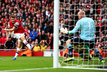 Hi-res-185349032-aaron-ramsey-of-arsenal-shoots-past-goalkeeper-john_display_image