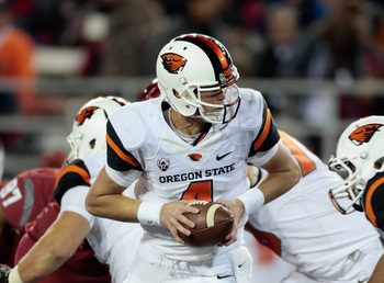 Oregon State QB Sean Mannion