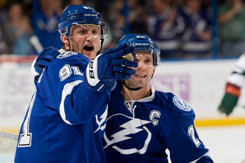 The Lightning's top line has done everything it was expected to do so far.