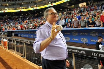 The amount of money owner Jeffrey Loria allocates for payroll could dictate who the Marlins keep for 2014.