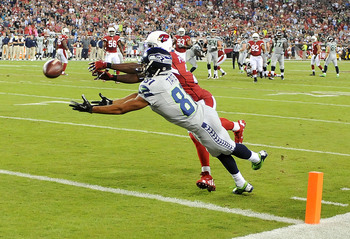 Patrick Peterson covers Golden Tate.