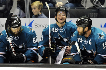 The only place opponents want to see San Jose's potent top line is on the bench.