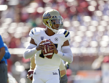 UCLA QB Brett Hundley