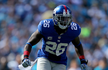 S Antrel Rolle is the heart of New York's defense.