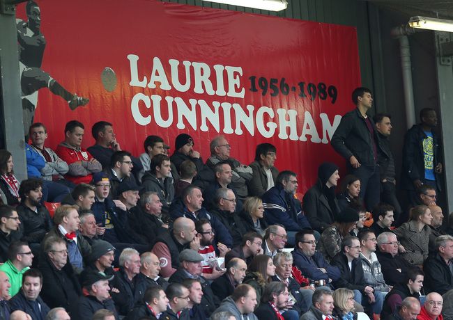 Hi-res-184586676-tribute-to-laurie-cunningham-hangs-up-in-the-home-end_crop_650