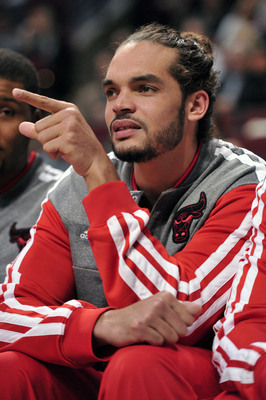 Joakim Noah could be on the sidelines for some more time.