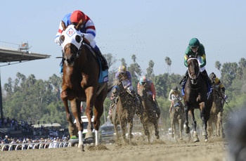 Groupie Doll seeks a repeat in the Filly & Mare Sprint