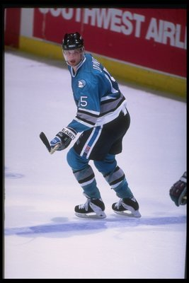 Craig Janney led the Sharks in points in 1995-96.