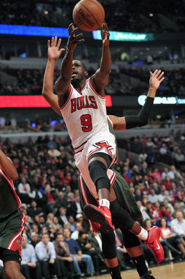 Luol Deng continues to play at a high level offensively.