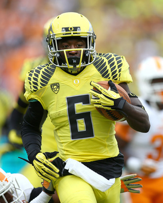 Oregon junior running back De'Anthony Thomas.