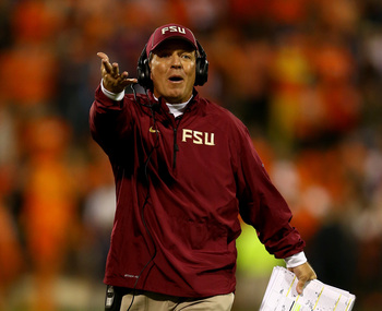 Head coach Jimbo Fisher