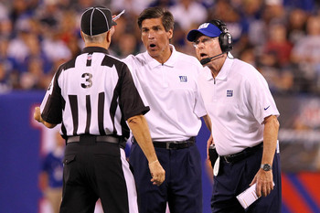 Giants special teams coordinator Tom Quinn's unit has been the Achilles heel for the Giants lately..