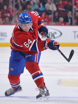 Montreal Canadiens defenseman Greg Pateryn.